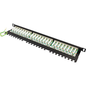 "Patchpanel, 19"", 24-Port, Cat.6a, 0,5 HE GOOD CONNECTIONS GC-N0013"