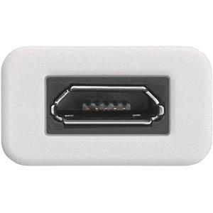 USB 3.1 C-Adapter auf USB Micro-B 2.0, weiß GOOBAY 71398