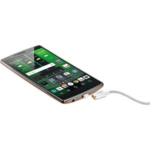 USB 2.0 Magnet-Kabel > Micro-USB - 1,2 Meter GOOBAY 40912