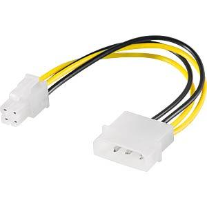 GOOBAY 51362 - Molex 4 Pin Stecker > P4 Pin Stecker