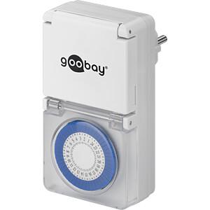 Zeitschaltuhr, analog, außen, 3 Stück GOOBAY 55548