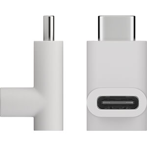 Goobay Adapter USB-C auf USB-C 90°, weiß GOOBAY 55557