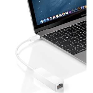USB-C > Gigabit LAN 100/1000 MBit/s GOOBAY 66255