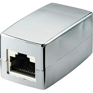 RJ45 crossover Modularkupplung/Verbinder, CAT 5e GOOBAY 68161