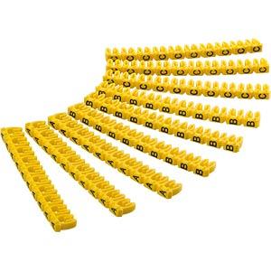 Kabelmarker-Clips A-C, für bis zu 2,5 mm GOOBAY 72516