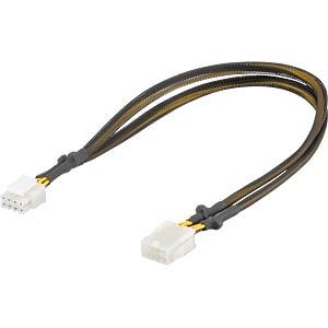 GOOBAY 93870 - Kabel Grafik 8 Pin PCIe St. >8 Pin Bu.