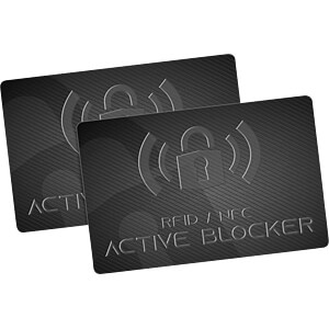 RFID 2er-Set GranHin Active Blocker Karte GRANHIN 061509