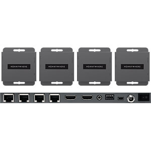 1x4 HDMI über Cat Splitter 2K HDANYWHERE HDA-250744