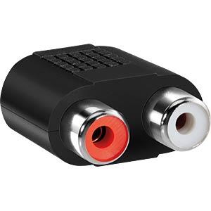 HDS LP-AA020 - 3,5 mm Stereo Klinken Stecker auf 2x Cinch Buchse