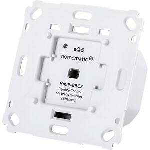 Wandtaster für Markenschalter - 2-fach HOMEMATIC IP 152000A0