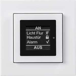 Funk-Statusanzeige mit Taster für 55er Rahmen HOMEMATIC 142408A0