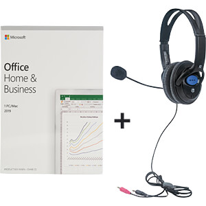 HOME OFFICE KIT2 - Office 2019 Home & Business inkl. Headset