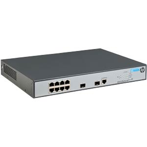 Switch, 8-Port, Gigabit Ethernet, PoE HEWLETT PACKARD ENTERPRISE JG922A