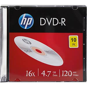 HP DME00085 - DVD-R 4.7GB/120Min