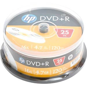 HP DRE00025 - DVD+R 4.7GB/120Min