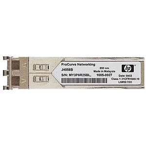 HP X121 1G SFP LC SX Transceiver HEWLETT PACKARD ENTERPRISE J4858C