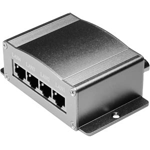 Extension Ethernet over Coax, 4 canaux ICYBOX IB-CX410V