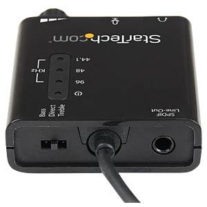 Soundkarte, extern, SPDIF, PCIe, USB Typ A STARTECH.COM ICUSBAUDIO2D