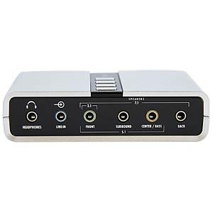 Soundkarte, extern, SPDIF, 7.1, USB Typ B STARTECH.COM ICUSBAUDIO7D