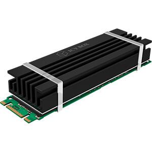 Kühlkörper für M.2 SSD 2280, Aluminium ICYBOX IB-M2HS-70