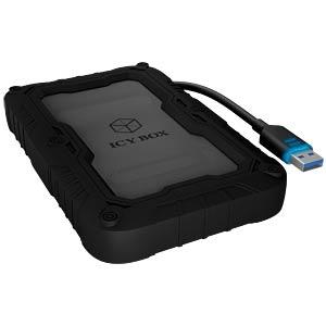 externes 2.5 SATA HDD Gehäuse, USB 3.0 ICYBOX 60084