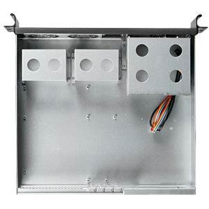 """48.3cm (19"""") server housing, 2U, black RAIDSONIC 19200"""