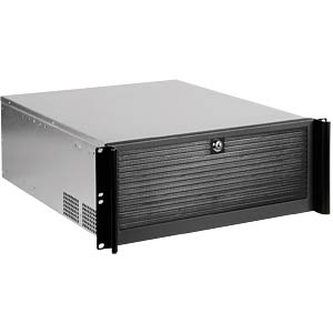 "48.3 cm (19"") server housing, 4 U, black RAIDSONIC 19400"
