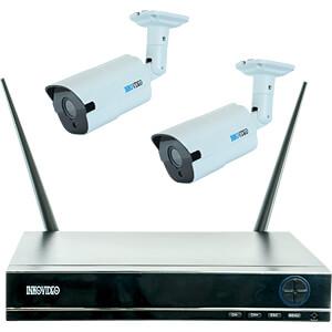 Netzwerk-Videorekorder, Set inkl. 2 Kameras INKOVIDEO INKO-22MW