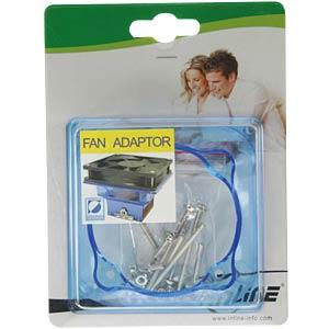 Fan adapter, 90 mm to 60 mm INLINE 36013