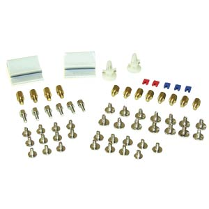 Screw set with jumpers, cable clips etc. INLINE 77778
