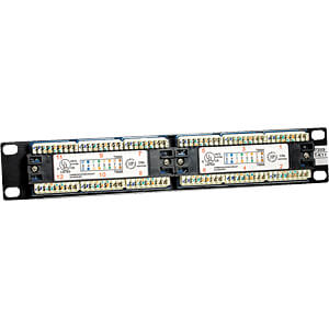 Patchpanel, 10, 12-Port, Cat5e, 1 HE INTELLINET 167642