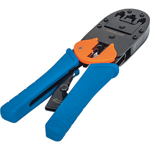 Crimpwerkzeug für RJ45, RJ12 und RJ11 INTELLINET 211048
