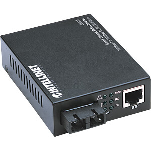 Medienkonverter, Gigabit Ethernet, SC, Multimode INTELLINET 506533