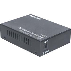 Medienkonverter, Gigabit Ethernet, SFP, Multimode / Singlemode INTELLINET 510493