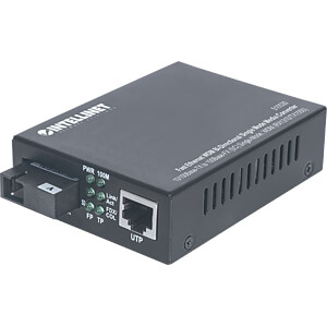 Medienkonverter, Fast Ethernet, SC, Singlemode INTELLINET 510530