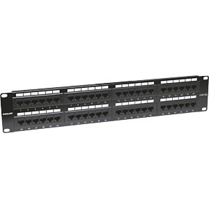 Patchpanel, 48-Port, Cat5e, 1 HE INTELLINET 513579