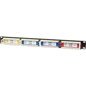 Patchpanel, 24-Port, Cat6, 1 HE INTELLINET 513692