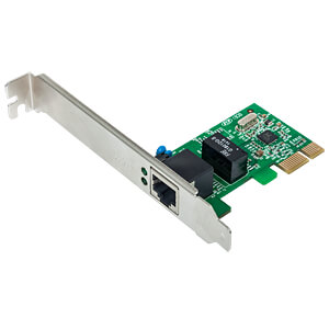 Netzwerkkarte, PCI Express, Gigabit Ethernet, 1x RJ45 INTELLINET 522533