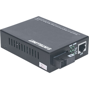 Medienkonverter, Gigabit Ethernet, SC, Singlemode INTELLINET 545068