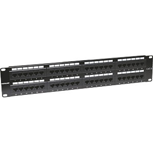 Patchpanel, 48-Port, Cat6, 2 HE INTELLINET 560283