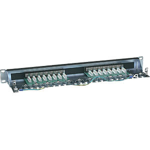 Patchpanel, 16-Port, Cat6, 1 HE INTELLINET 720021