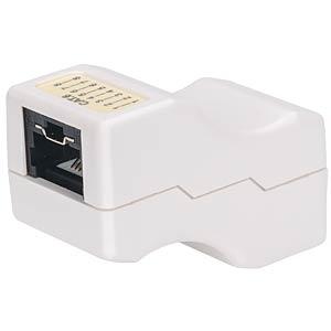 Abschließbare Cat6 Inline-Kupplung INTELLINET 790727