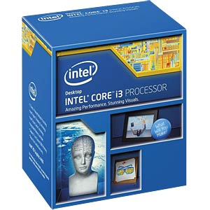 Intel Core i3-4150, 2x 3.50 GHz, boxed, 1150 INTEL BX80646I34150