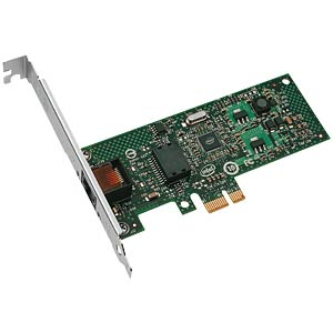 Network interface PCI-e,10/100/1000 MBit/s INTEL EXPI9301CTBLK