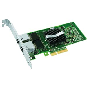 PCI-e network interface card, 2x 100/1000 Mbit/s INTEL EXPI9402PTBLK