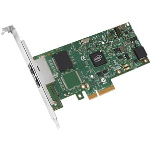 Network interface card PCI-e, 2x 10/100/1000 MBit/s, bulk INTEL I350T2V2BLK