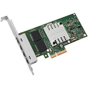 Network interface card PCI-e, 4x 10/100/1000 MBit/s, bulk INTEL I350T4V2BLK