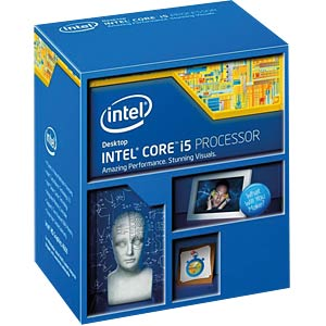 Intel Core i5-4590, 4x 3.30 GHz, boxed, 1150 INTEL BX80646I54590