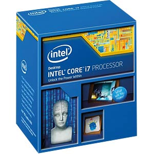 Intel Core i7-4770K, 4x 3.50 GHz, boxed, 1150 INTEL BX80646I74770K