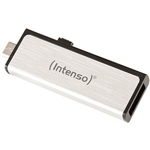 USB 2.0-stick 32GB Mobile Line met Micro-USB INTENSO 3523480